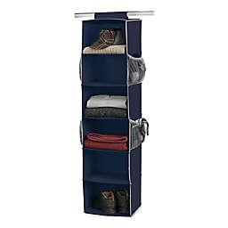 Studio 3B™ 6-Shelf Hanging Shoe Organizer in Peacoat