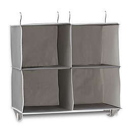 Studio 3B™ 4-Shelf Hanging Cubby Organizer in Grey