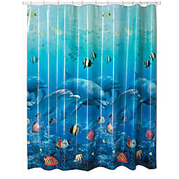 Allure Home Creations Jump for Joy PEVA Shower Curtain