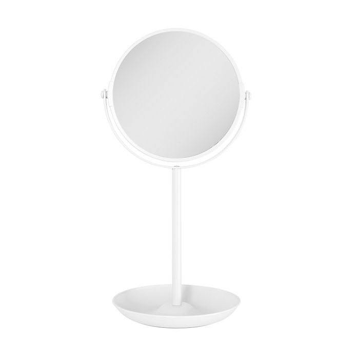 Alternate image 1 for Zadro® 1x/5x Back to School Vanity Mirror with Tray in Bright White