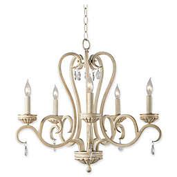 Kenroy Home Marcella Chandelier in Gold