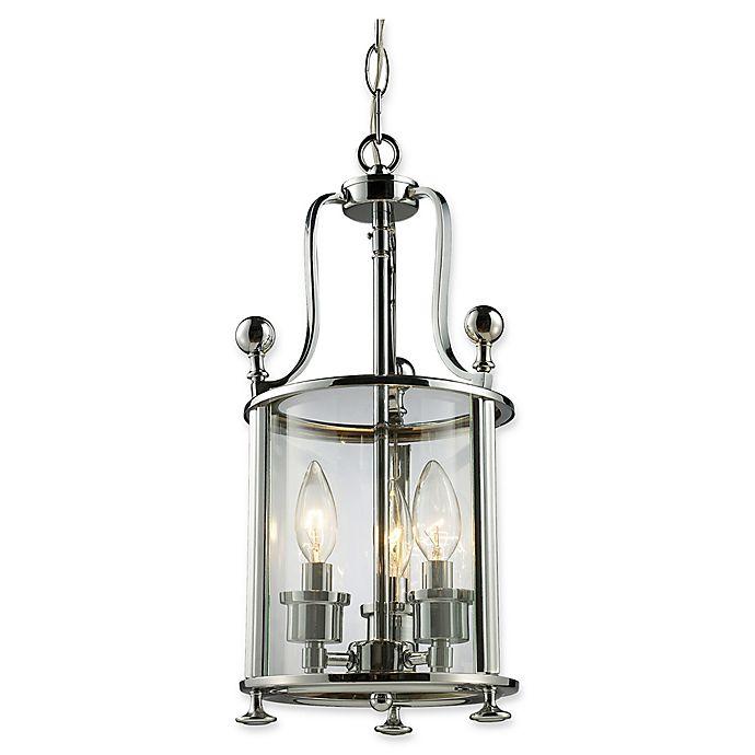Alternate image 1 for Filament Design Luisa 8-Light Ceiling-Mount Pendant in Brushed Nickel