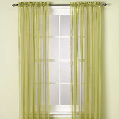 Elegance Sheer Window Curtain Panel