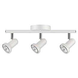 Globe Electric Melo Track Light in White