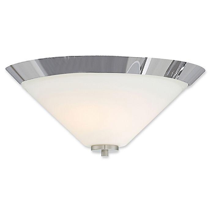 Alternate image 1 for Filament Design 2-Light Flush Mount Ceiling Light in Brushed Nickel