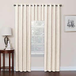 Quinn 100% Blackout Window Curtain Panel and Valance