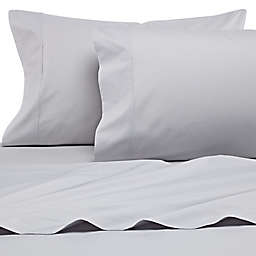 Heartland® HomeGrown™ 400-Thread-Count Percale Twin Sheet Set in Silver