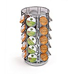 Mind Reader 35-Count K-Cup® Carousel in Silver