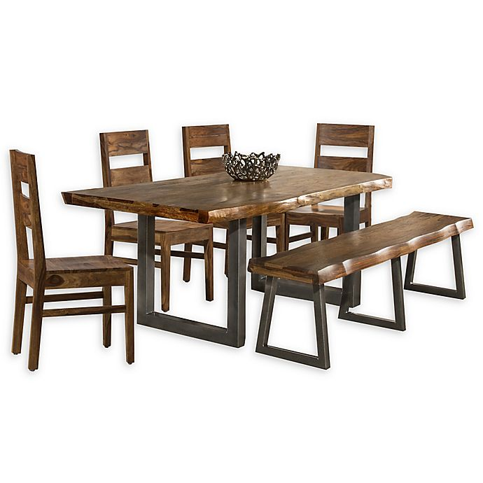 Alternate image 1 for Hillsdale Furniture Emerson 6-Piece Dining Set in Natural