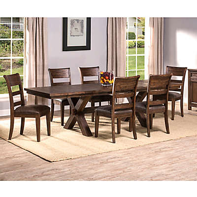 Hillsdale Furniture Park Avenue Dining Collection in Walnut