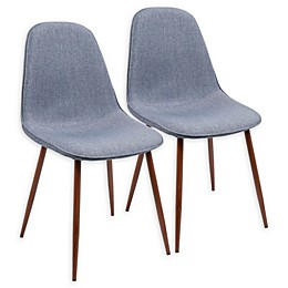 Lumisource Pebble Dining Side Chairs (Set of 2)