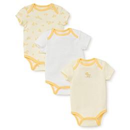 Little Me® Ducks Bodysuit in Yellow