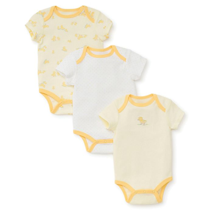 Alternate image 1 for Little Me® Ducks Bodysuit in Yellow