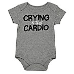 Baby Starters® Size 3M  Crying Is My Cardio  Bodysuit in Grey