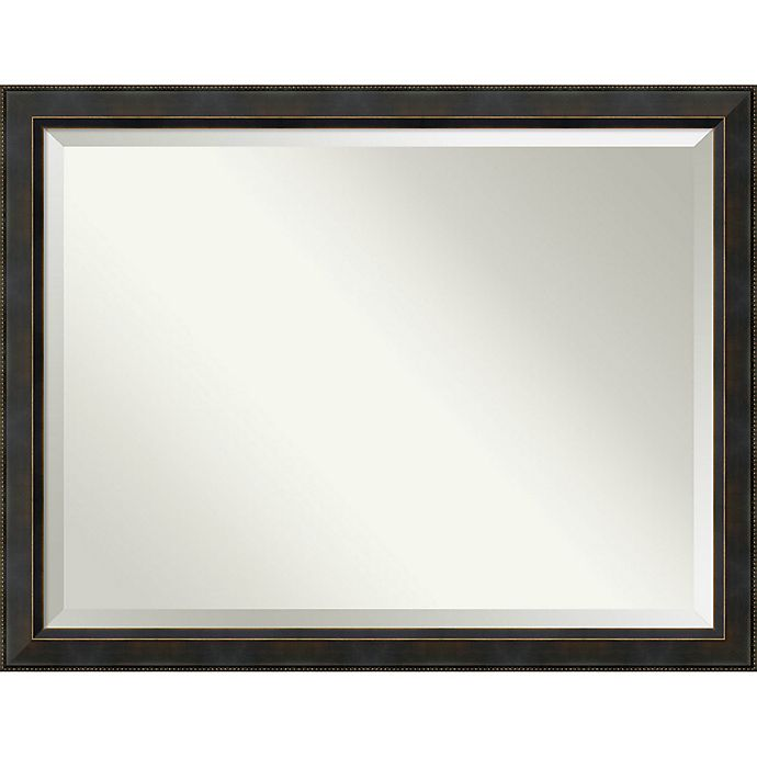 Alternate image 1 for Amanti Art Signore 44-Inch x 34-Inch Framed Wall Mirror in Bronze