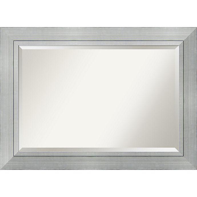 Alternate image 1 for Amanti Art® Romano Bathroom Mirror in Silver