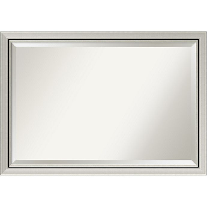 Alternate image 1 for Amanti Romano Narrow Extra Large Wall Mirror in Silver