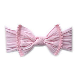 Baby Bling Pom Pom Headband in Pink
