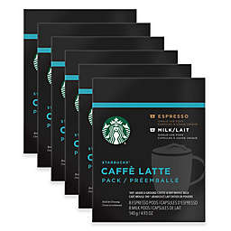 Starbucks® Verismo™ 80-Count Caffe Latte Espresso +Milk Pods