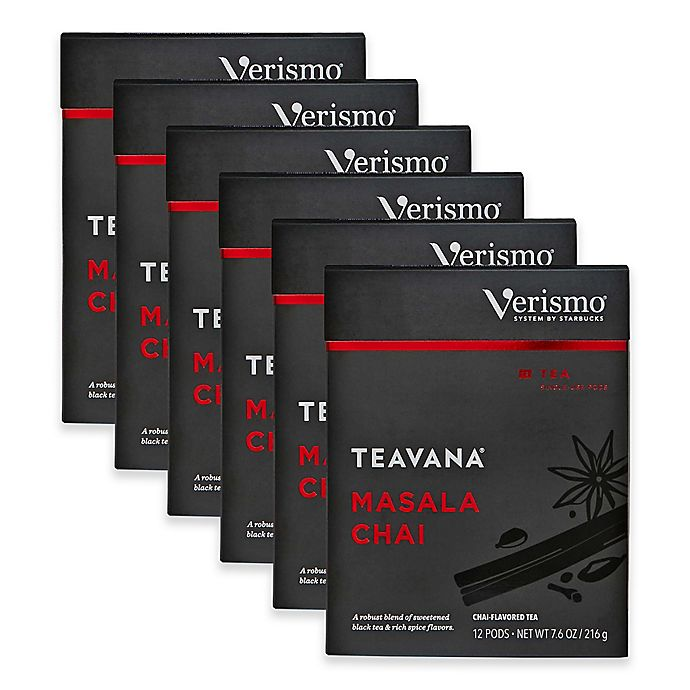 Alternate image 1 for Starbucks® Verismo™ 72-Count Teavana® Masala Chai Tea Pods
