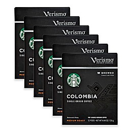 Starbucks® Verismo® 72-Count Colombia Brewed Coffee Pods
