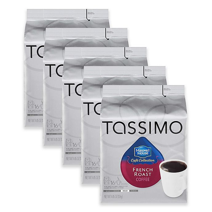Alternate image 1 for Maxwell House 80-Count French Roast Coffee T DISCs for Tassimo™ Beverage System