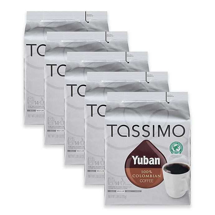 Alternate image 1 for Yuban 70-Count Colombian Coffee T DISCs for Tassimo™ Beverage System