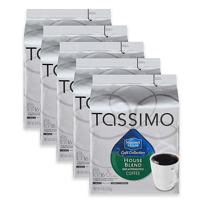 Alternate image 1 for Maxwell House 80-Count Decaf House Blend T DISCs for Tassimo™ Beverage System