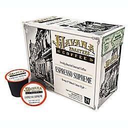 Havana Roasters® Espresso Supreme Coffee Pods for Single Serve Coffee Makers 24-Count