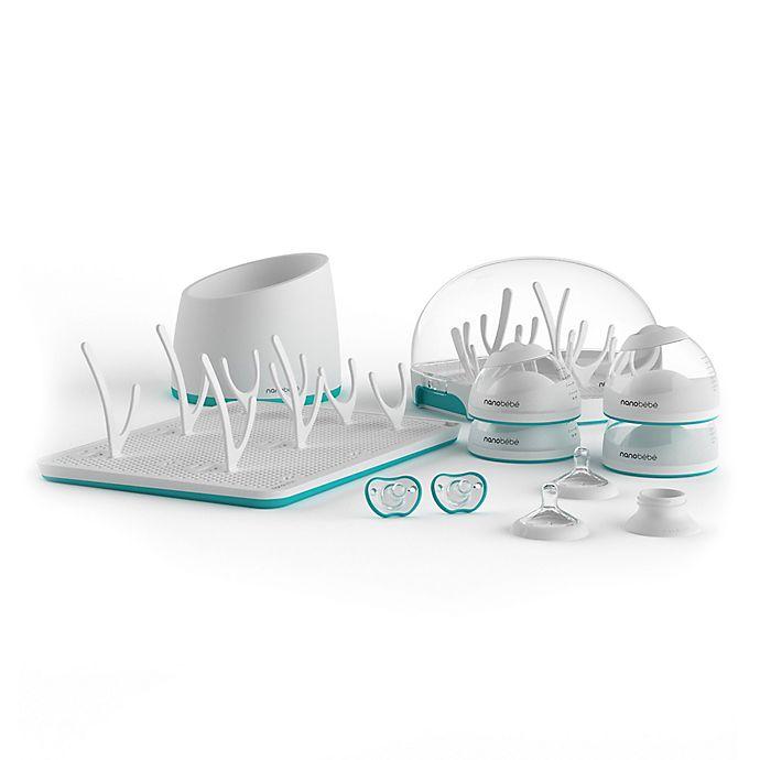 Alternate image 1 for Nanobebe Newborn Gift Set in Teal