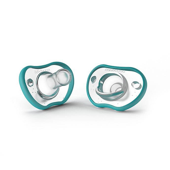 Alternate image 1 for Nanobebe Flexy 0-3M 2-Pack Pacifiers