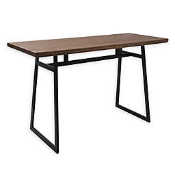 LumiSource® Geo Counter Table in Brown/Black
