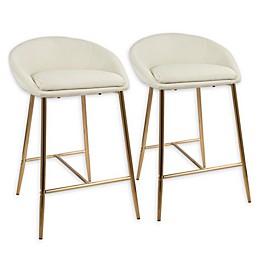 Lumisource™ Matisse Upholstered Barstools (Set of 2)