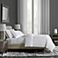 Part of the Flatiron® Hotel Satin Stitch Duvet Cover
