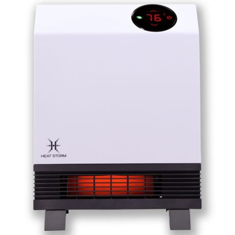 Heat Storm Wave Floor To Wall Infrared Heater Bed Bath