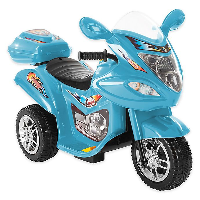 Alternate image 1 for Lil' Rider 3-Wheel Ride-On Motorcycle in Blue