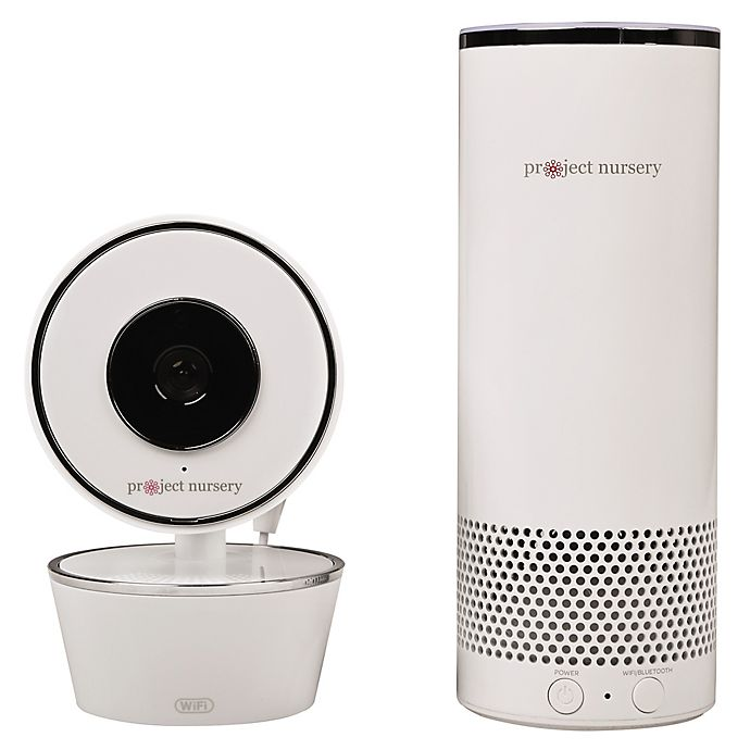 Alternate image 1 for Project Nursery® Smart Nursery Baby Monitoring System with Alexa Voice-Control in White