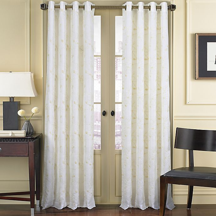 Buy J. Queen New York Aster 95-Inch Grommet Top Window