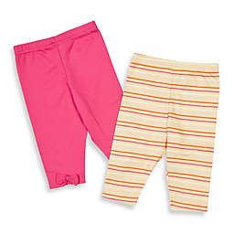 Lamaze® Pink/Yellow Stripes Pants (2-Pack) - 3 - 6 Months