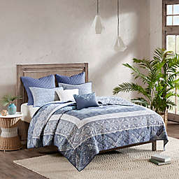 Urban Habitat Maggie 7-Piece Reversible Cotton Coverlet Set