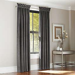 J. Queen New York™ Manchester Rod Pocket Window Curtain Panel Pair