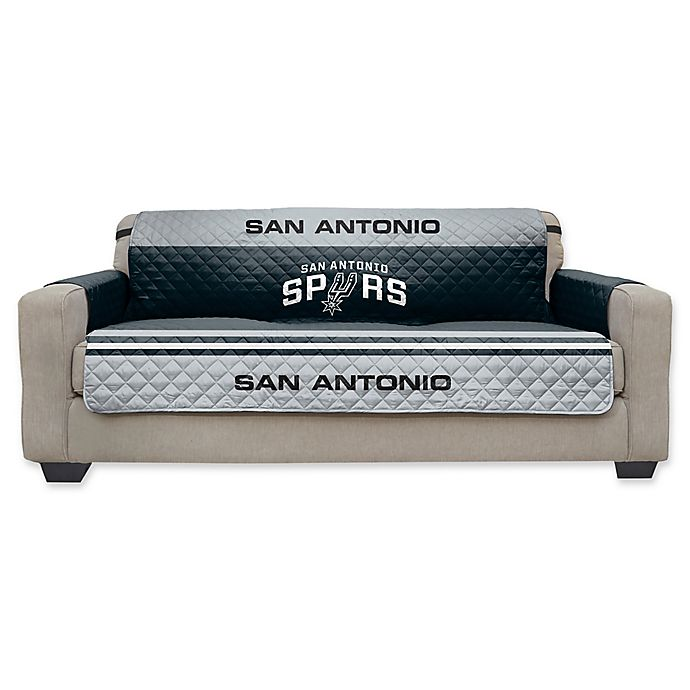 Remarkable Nba San Antonio Spurs Sofa Furniture Protector Bed Bath Onthecornerstone Fun Painted Chair Ideas Images Onthecornerstoneorg