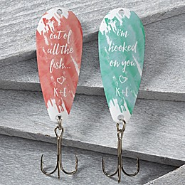 His and Hers Fin-tastic 2-Piece Fishing Lure Set