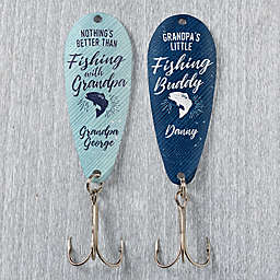 Grandpa's Fishing Buddy 2-Piece Fishing Lure Set