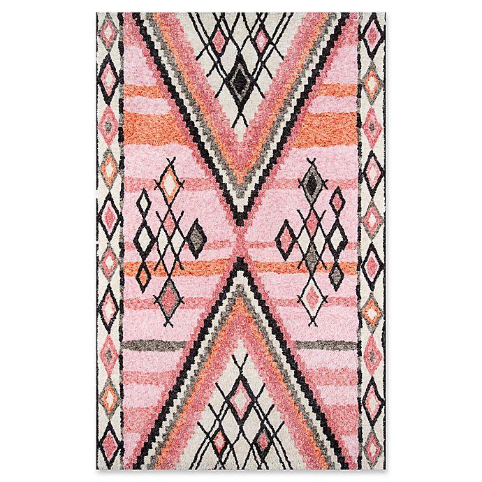 Alternate image 1 for Momeni Margaux Geometric Rug in Pink