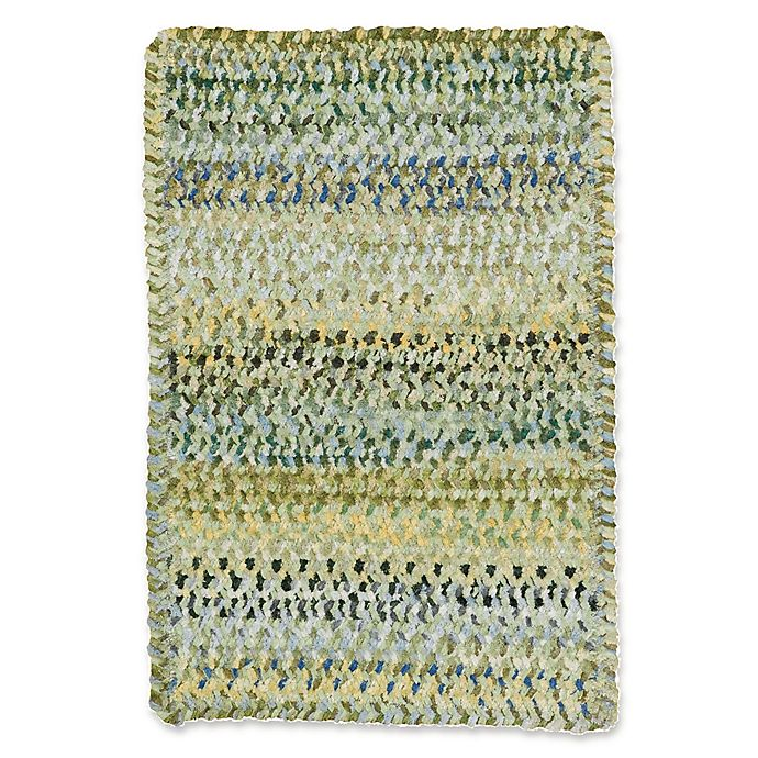 Alternate image 1 for Capel Rugs Ocracoke Braided 4' x 6' Accent Rug in Pale Green