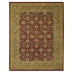Capel Rugs Orinda-Meshed Rug in Red