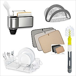 Kitchen Sink Storage and Organizer Starter Collection