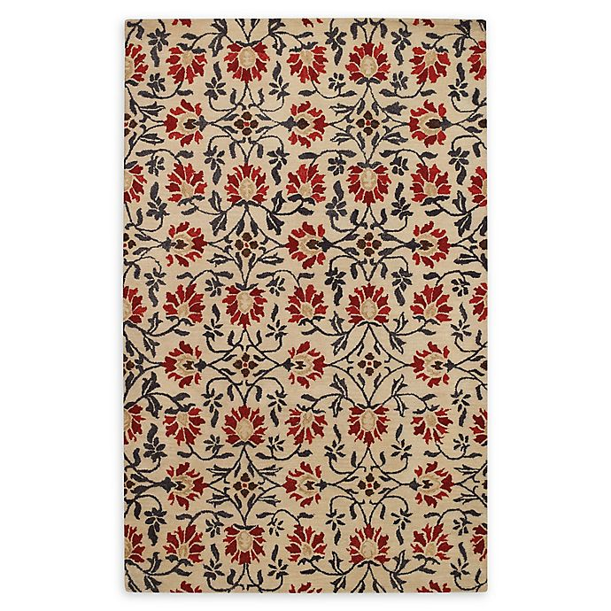 Alternate image 1 for Capel Rugs Rosana 4' x 6' Hand Tufted Area Rug in Red/Multi