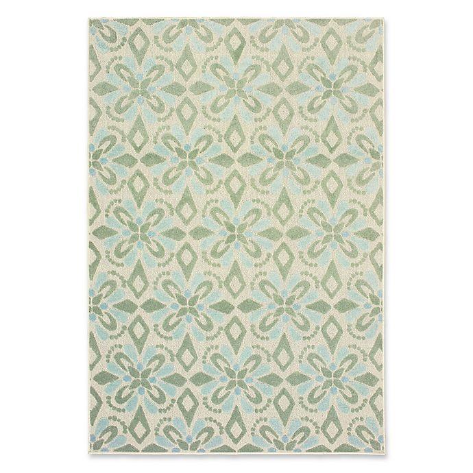 Oriental Weavers Barbados Geometric Indoor Outdoor Rug Bed